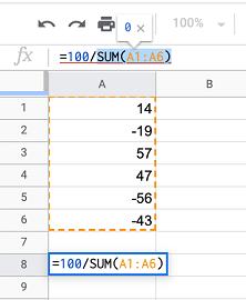 Check Denominator Value in Google Sheets
