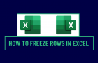 Freeze Rows in Excel