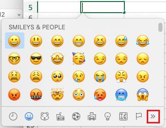 Excel For Mac Insert Symbols Options